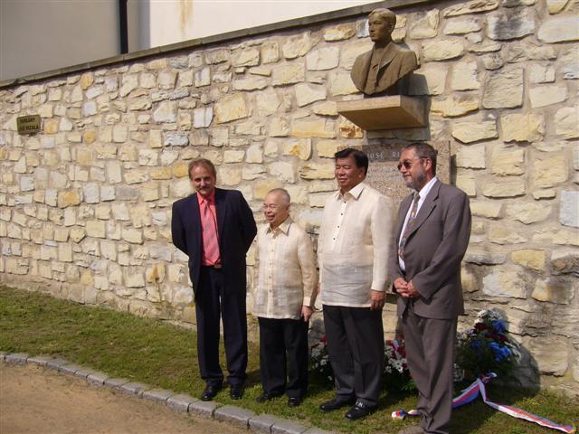 Uctění památky J. Rizala