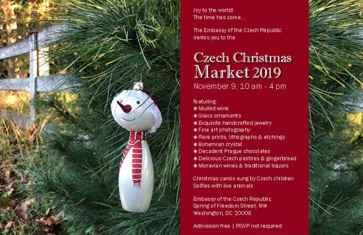 Christmas Events Dc 2019.Czech Christmas Market Embassy Of The Czech Republic In