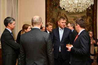 Minister Petříček welcomed Donors and Partners of the Prague Civil Society Centre