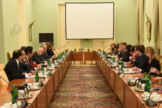 Minister Petříček Received the Ambassadors of the League of Arab States