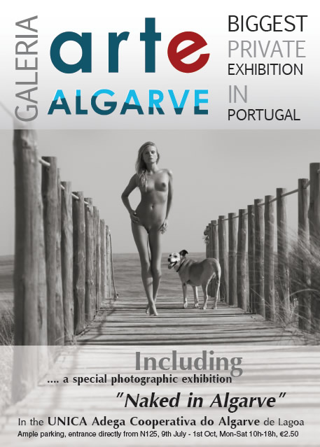 Naked in Algarve
