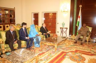 Ambassador Mikeš and President Guelleh discussed how to enhance relations