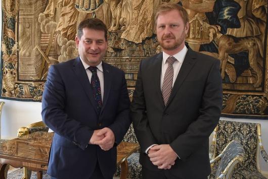 Náměstek Dürr jednal se státním ministrem Irska pro evropské záležitosti 3af83bc5e3