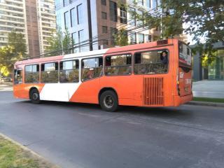 Autobus v Santiagu