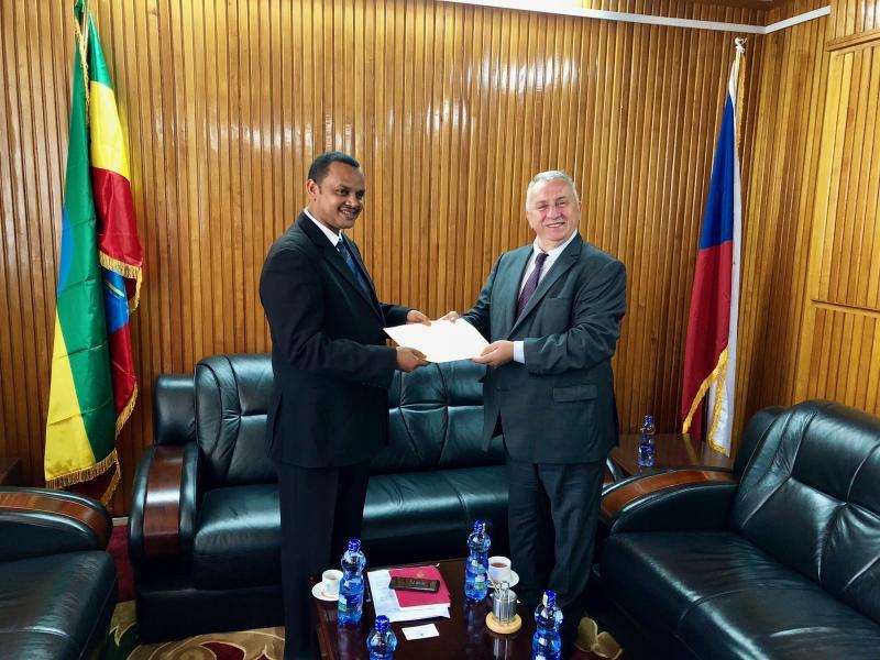 etiopské diaspory poprvé setkání na dlouhé vzdálenosti