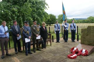 The annual Service for the Czechoslovak Legionaries on 9th July 2016