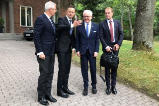 Deputy Minister Šrámek at the V4 + Nordic and Baltic Countries Foreign Ministers Meeting