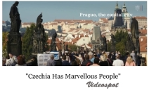 Upoutávka k videospotu Czechia Has Marvellous People