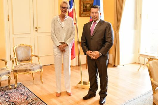 State Secretary Stašek Received the Ambassador of Norway
