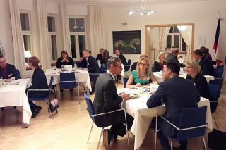 Jednání B2B na Velvyslanectví ČR ve Finsku