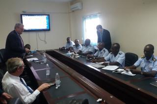 Prezentace pro vzdušné síly Pobřeží Slonoviny