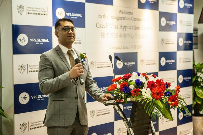 New Visa Application Centre of the Czech Republic Officially