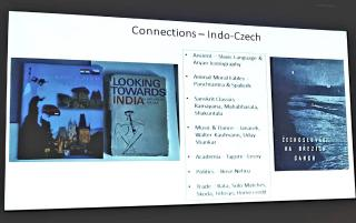 Connection between India and the Czech Republic