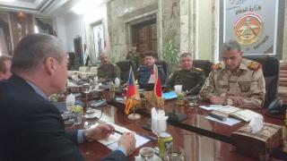 The meeting with Acting Defense Minister Ghanem