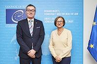 Czech Republic made a voluntary contribution to the CoE