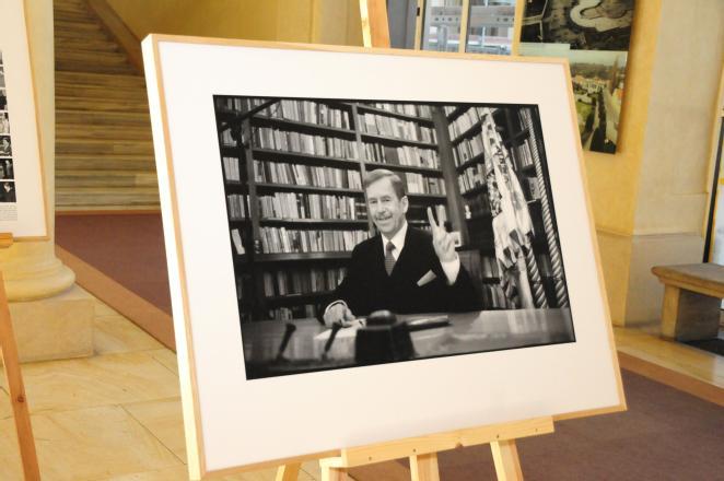 Výstava fotografií Oldřicha Škáchy věnovaných Václavu Havlovi 2d331aca36